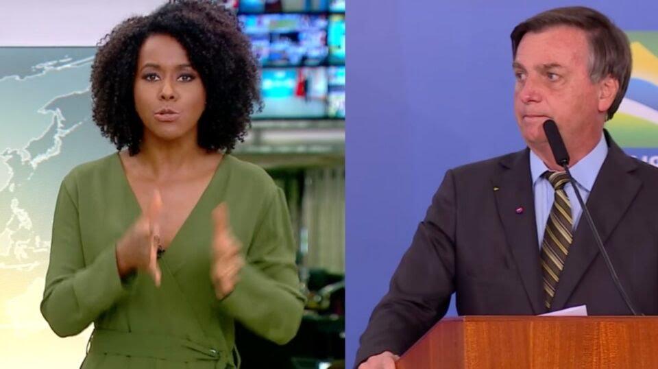 Maju Coutinho fala de Bolsonaro e Globo pode retirá-la de programa